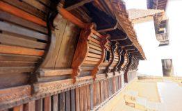 Padmanabhapuram,Kerala,India,December,4,2012,Carved,Bay,Window,For