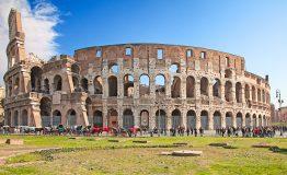 Ruins,Of,The,Colloseum,In,Rome,,Italy